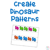 Create a Pattern Dinosaur Activity