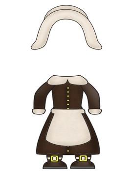 Create a Pilgrim!!  Awesome Bulletin Board Idea!!