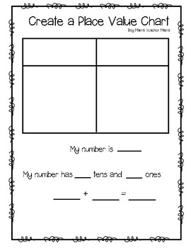 Create a Place Value Chart