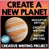 Create a Planet - Creative & Fun Descriptive, Report Narrative Writing Activity!