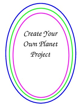 Create a Planet Project