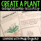 Create a Plant Adaptations Project and Activity