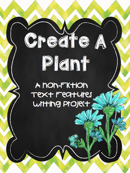 Create a Plant Cross Curricular Science Writing Project