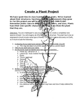 Create a Plant Project