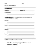 Create a Political Party Worksheet