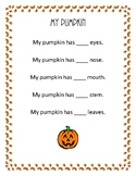 Create a Pumpkin + Counting Activity