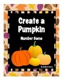 Create a Pumpkin - a math counting game