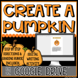Create a Pumpkin in GOOGLE DRIVE™