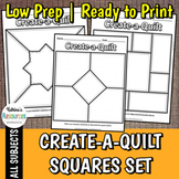 Create a Quilt Squares - 12 Different Designs for a Classr