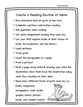 Create a Reading Routine at Home