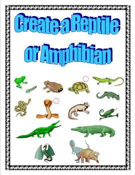 Create a Reptile/Amphibian