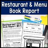 Create a Restaurant Book Report: Directions, Blank Menu, Rubric & More!