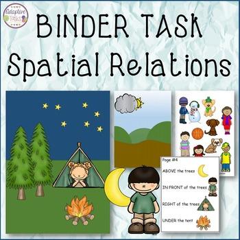 BINDER TASK Spatial Relations