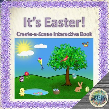 It's Easter! Create-a-Scene interactive book / emergent reader
