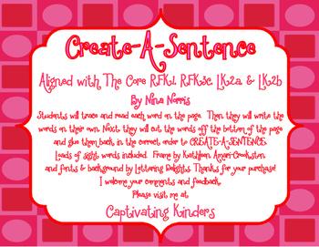 Create a Sentence