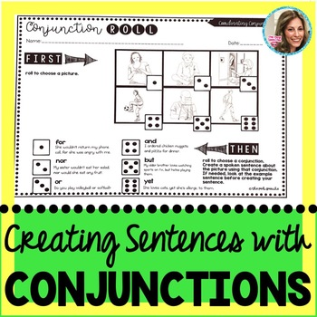 Middle School Grammar Worksheets | Complex Sentences | Conjunctions | Syntax