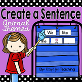 Create a Sentence FREE (Animal Themed)