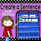 Create a Sentence (Fall Themed)