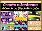 Create a Sentence Promethean Flipchart Lesson for Early Learners