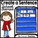 Create a Sentence (School Themed)