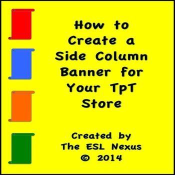 Create a Side Column Banner