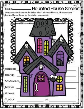 Create a Simile ~ Haunted House