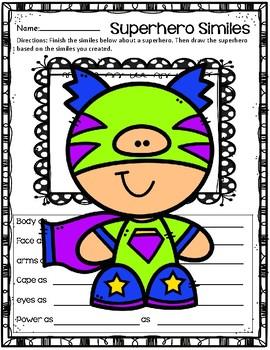 Create a Simile ~ Superhero
