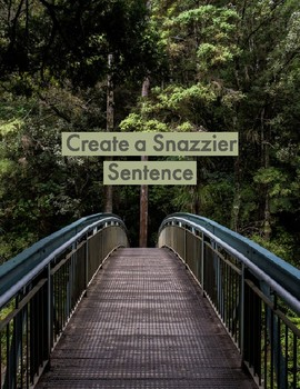 Create a Snazzier Sentence