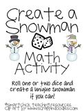Create a Snowman Math Activity for Intermediate Students