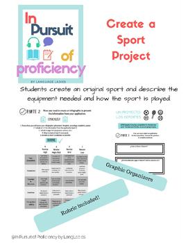 Create a Sport Project (proyecto de deportes)