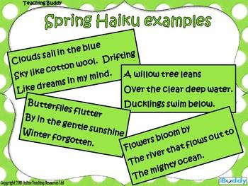 Creating a Spring Haiku