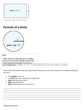 Create a Store with the Common Core!