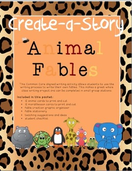 Create-a-Story: Animal Fables
