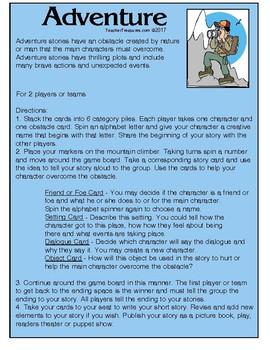 Create a Story Board Games