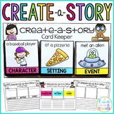 Writing Center | Create-a-Story {Character, Setting & Event Cards & Printables}