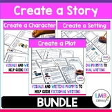 Developing Character Traits, Setting, and Plot Structure for Narrative Writing