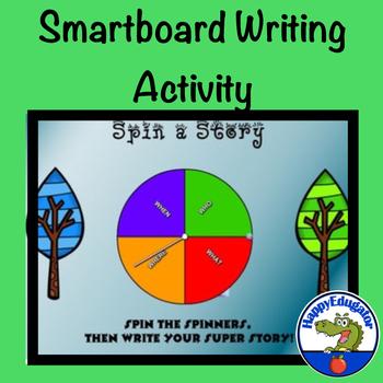 Spin a Story - SmartBoard
