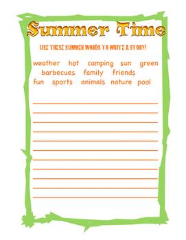 Create a Summer Story