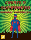 Create a Superhero Graphic Organizer (Editable in Google Slides)