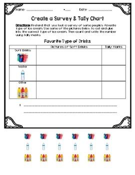 Create a Survey & Tally Chart
