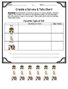 Create a Survey & Tally Chart
