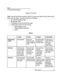 Create a Text Set Project Rubric