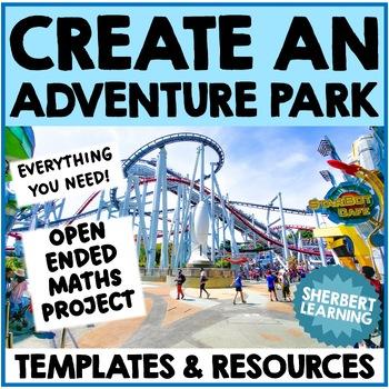 Create an Adventure Park - Math Project Problem Solving, Measurement + more!