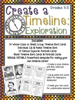 Create a Timeline: Exploration