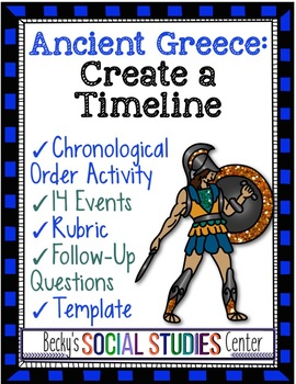 Create a Timeline Project of Ancient Greece - 14 Important