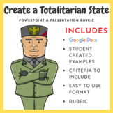 Create a Totalitarian State on PowerPoint & Presentation Rubric