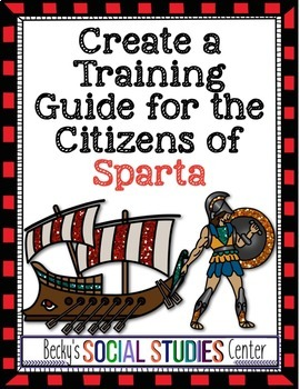 Create a Training Guide for Citizens of Sparta - An Ancient Greece Project