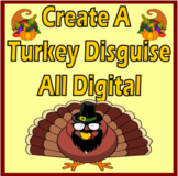 Thanksgiving - Create a Turkey Disguise - Writing Activity