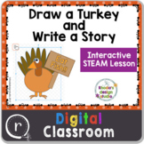 Create a Turkey and Write a Story STEAM Activity