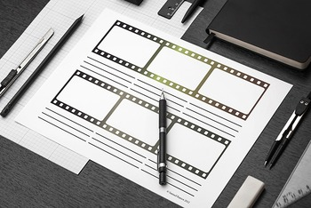 Create a  Video Sequence Kit: 4 Different Templates [Storyboarding]